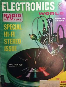 Electronics World (USA) October 1959 Special Issue on Hi Fi Stereo