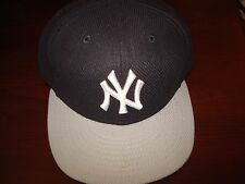 NEW YORK YANKEES SUBWAY 2002  ON FIELD RARE  NEW ERA  HAT CAP FITTED SZ 7 1/2