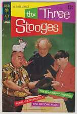 L1383: The Three Stooges #52, Gold Key, Fine Condition