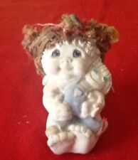 """Dreamsicles Cast Art """"Ragamuffin"""" Angel and Raggedy Ann Doll Sculpture - New"""
