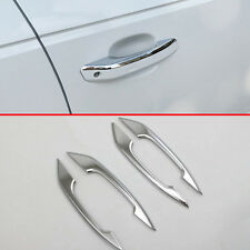 ABS Chrome Door Handle Cover Trim For Audi A4 2017 2018