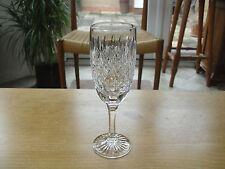 """Tiffany & co panneau & criss-cross cut flûtes à champagne - 7 3/8"""" (18.75cms)"""