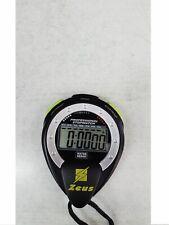 Zeus Cronometro professionale - Art. 164-107 (Nero/Giallo Fluo)