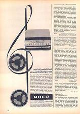 Uher-Universal 5000-1963-Reklame-Werbung-genuineAdvertising-nl-Versandhandel