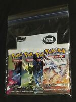 Pokemon- Black And White- Base Set Of 4 Booster Packs SEALED- New with Tracking!