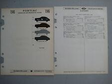 1946 Pontiac paint chip color chart