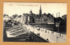 Guben,Neissebrücke schöne Straßen Ansicht 1918