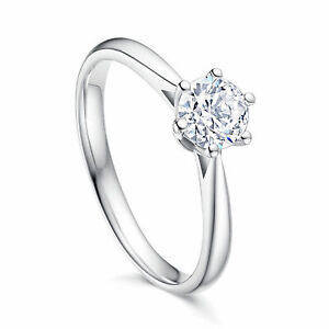 Womens Polished Stone Silver Plated Ring Band Cubic Zirconia Fashion Engagement