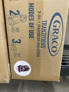 New Graco Tranzitions 3 in 1 Harness Booster Seat, Kyte Free Fast Delivery