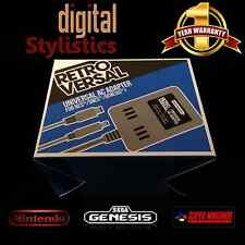 AC Adapter Power Supply for NES, SNES Super Nintendo, Sega Genesis 1 (NEW NIB)