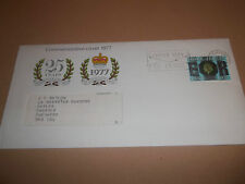 POST OFFICE COMMEMORATIVE COVER 1977 SPASTICS SOCIETY / QUEEN'S SILVER JUILEE