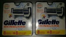 Gillette Skinguard Replacement Blades 16 Count Brand New Factory Sealed