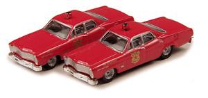 1967 Ford Custom 500 Fire Chief Set N - Classic Metal Works #50244 vmf121