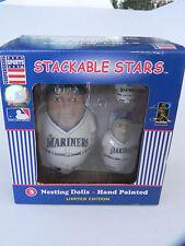 Coopersburg Stackable Baseball Nesting Dolls ICHIRO SUZUKI Seattle Mariners