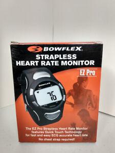 Bowflex Strapless Heart Rate Monitor EZ Pro, Black