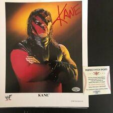 KANE WWE WWF FRAMED 11X17 SIGNED PHOTO AUTOGRAPHED AVENGERS 57 SPOOF JSA COA