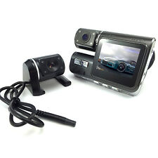 Dual Car Camera Dash HD DVR Video Vehicle Camera Recorder Crash Cam Black Box EU