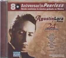 CD - Agustin Lara NEW 24 Inolvidables 80 Aniversario Peerless FAST SHIPPING !