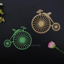 Round Bike Metal Cutting Dies Stencil DIY Scrapbooking Album Paper Card Craft