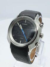 Diesel DZ4039 men's watch analog/digital black blue chrono DZ-4039 10 ATM