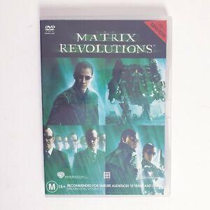 The Matrix Revolutions DVD Movie Region 4 Free Postage - Scifi Action