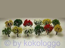 X23 Set Bäume 12 Stück Laubbäume blühend 7 cm NEU