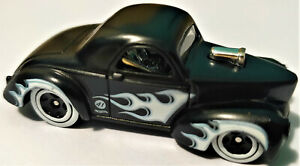 2021 HOT WHEELS FLAMES 5 PACK EXCLUSIVE - '41 WILLYS COUPE - LOOSE