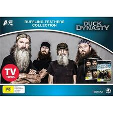 DUCK DYNASTY: Season 1+2 - Ruffling Feathers Collection DVD BRAND NEW SEALED R4