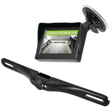 NEW Pyle Plcm4350wir Wireless Backup Parking-assist System With License Plate Ca