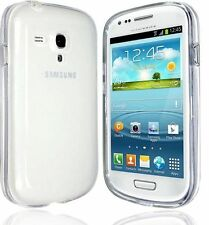 Crystal Clear Transparente Slim Gel Suave posterior Funda Samsung Galaxy S3 Mini