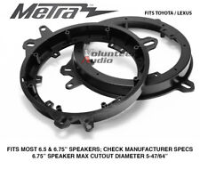 "Metra 82-8148 6"" To 6.75 Front Speaker Adapters for Lexus & Toyota Models"