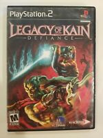 Legacy of Kain: Defiance (Sony PlayStation 2 PS2, 2003) TESTED NO MANUAL
