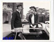 Leonard Nimoy Susan Hampshire Baffled VINTAGE Photo