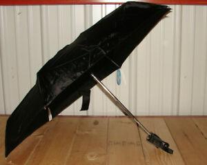 Cirra by ShedRain Auto Open/Close Compact Umbrella - Black *Brand New* ^^^