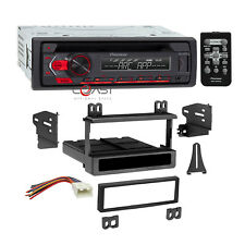 Pioneer CD USB Android Stereo Dash Kit Harness for 95-up Ford Lincoln Mercury