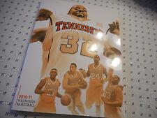 Tennessee Volunteers 2010-11 Basketball Media Guide Bruce Pearl