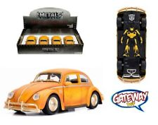 1/24 JADA Display N/B Transformers 1971 Volkswagen Beetle Bumblebee Model 30452