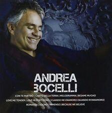 Icon (CD) Andrea Bocelli (11 Tracks) English and Italian