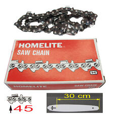 HOMELITE piece CHAINE 45 maillons guide 30cm