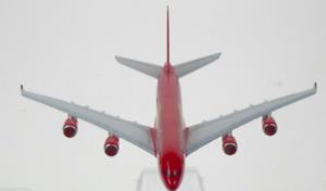 Coca Cola Airbus A380 Model Plane Scale Apx 14cm Long Diecast Metal