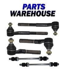 6Pc Kit For 94-99 Dodge Ram 2500 Rwd Sway Bar Links Tie Rod Ends 2 Year Warranty