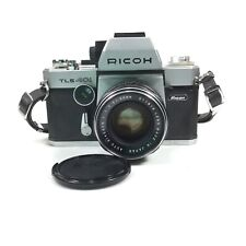 Ricoh TLS 401 Dual Viewer 35mm SLR Film Camera & Lens Auto Rikenon 1:1.7 55mm