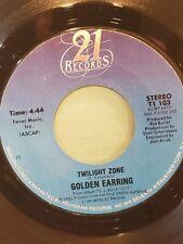 "GOLDEN EARRING 7"" 45 RPM - ""Twilight Zone"" & ""King Dark"" VG+ condition"