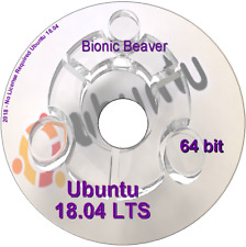 2 Linux DVDs KALI  2019.1 & Ubuntu Studio 18.04.3 LTS 64 bit - 2 Complete O/S