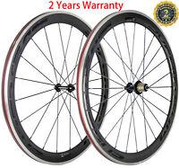 700C 50mm Carbon Wheels Alloy/Aluminum Brake Surface Road Bike Carbon Wheelset