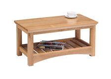 Solid Oak Coffee Table / Light Oak / Lounge Table / Coffee Table  / New Oakmore