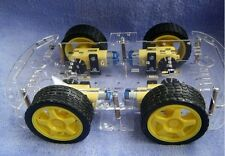 4WD Robot Car Chassis Kit For Arduino / Raspberry Pi w/ Encoder