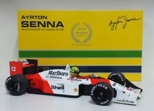MINICHAMPS 1/12 Ayrton Senna Model Car F1 Mclaren Honda Japan 1988 Diecast