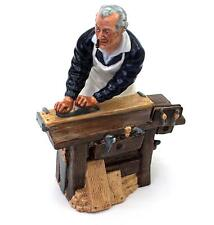 Royal Doulton Character Figurine THE CARPENTER and His Tools Figure Retired 1992
