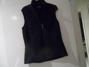 Kathmandu fleece Polartek Women's black  Vest Size 12